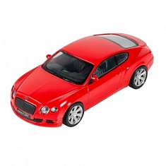 Машинка Bentley Continental GT, Красная (1:43)